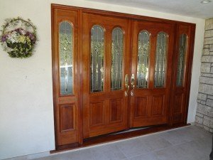 A set of door painted by Don Clasen
