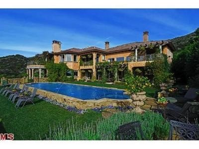 Another home and pool.